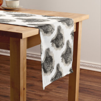 Cat Short Table Runner