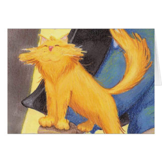 Cat Show Bow / Notecard Note Card