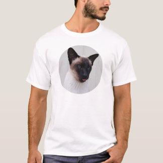 Cat Siamese Portrait T-Shirt