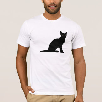 Cat Silhouette Mens T-Shirt