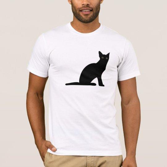 Cat Silhouette Mens T-Shirt