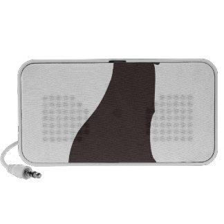 Cat Sillhouette Portable Speaker