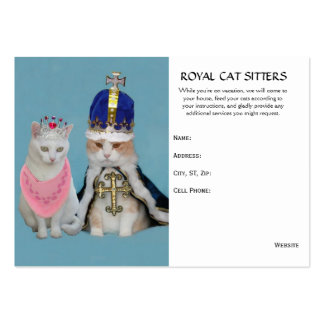 Cat Sitter Pack Of Chubby Business Cards
