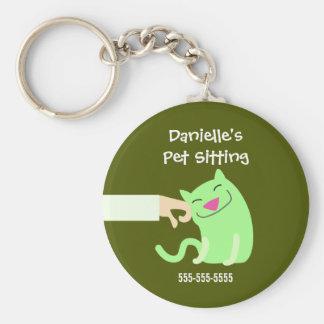Cat Sitter's Keyring