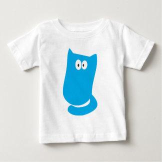 Cat Sitting Bundle Blue Hello Eyes Baby T-Shirt