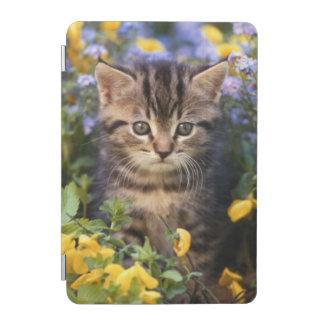 Cat Sitting In Flower Garden iPad Mini Cover