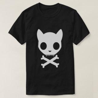 Cat Skull and Crossbones T-Shirt