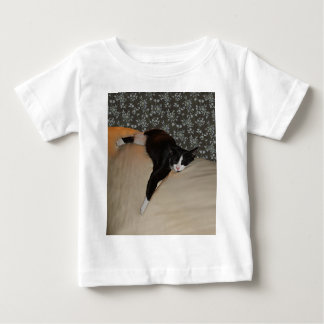 Cat Sleeping on top of Couch Infant T-Shirt
