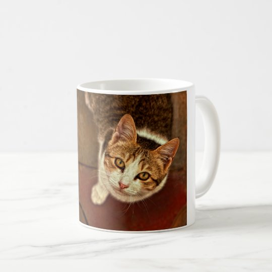 Cat Smile Coffee Mug