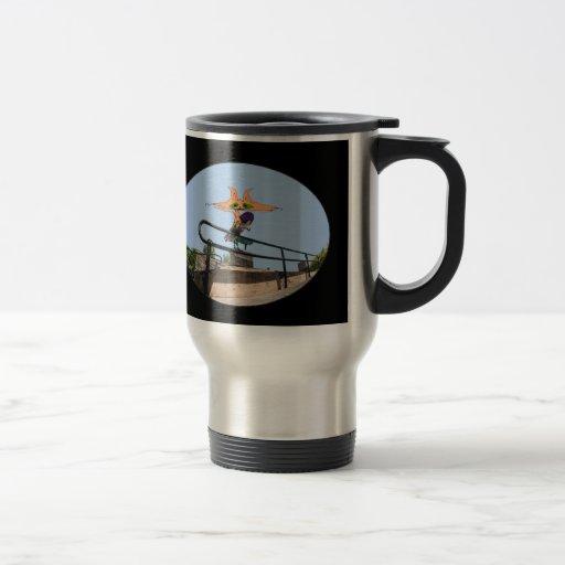Cat Smiles In Mid Grind Coffee Mug