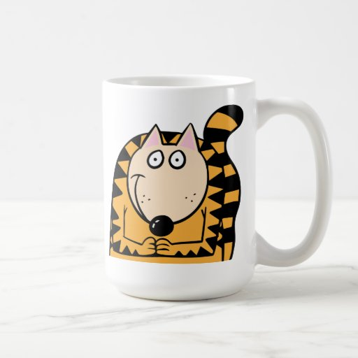 Cat Smiling Coffee Mug