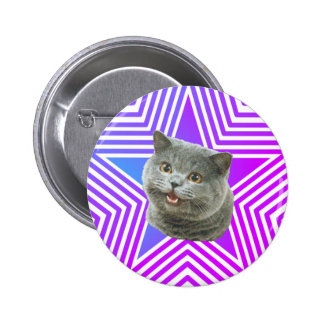 Cat Star Button