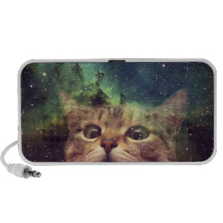 Cat Staring into Space Notebook Speaker