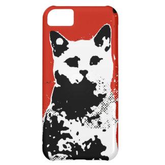 cat stencil iPhone 5C case