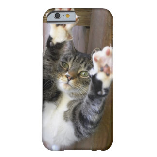 Cat stretching, indoors barely there iPhone 6 case