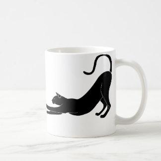 Cat Stretching Mug