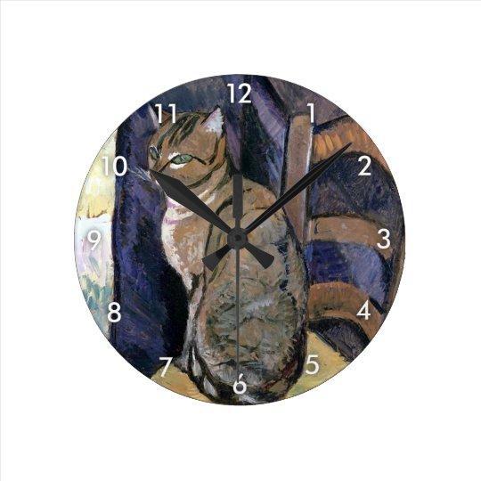 Cat, Suzanne Valadon Round Clock