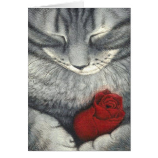 Cat Sympathy Note Card