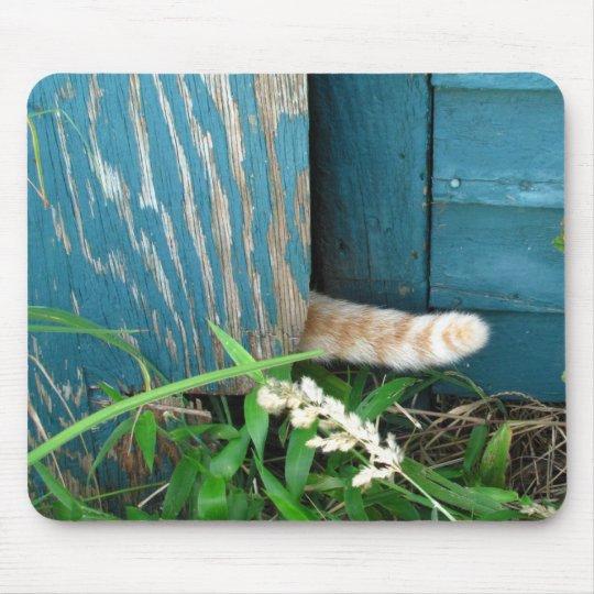 Cat Tail ~ mousepad