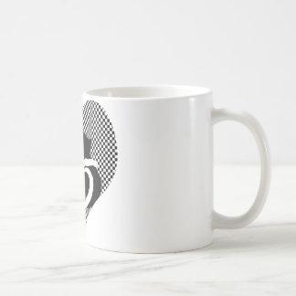 CAT tails - love black white Coffee Mug