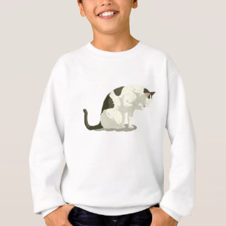 Cat Taking A Bath Sweatshirt