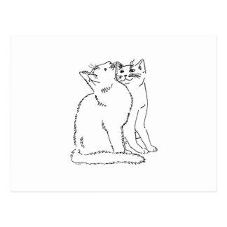 Cat Templates.jpg Postcard