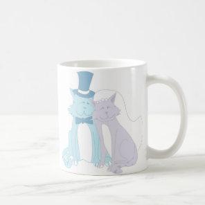 Cat Theme Wedding Coffee Mug