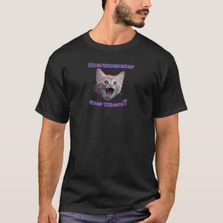 Cat Thermometer T-Shirt