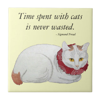 Cat Time Gift Tile