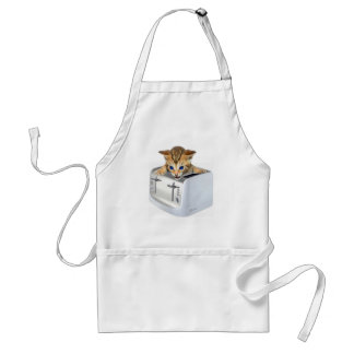 Cat Toaster Aprons