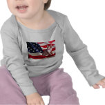 Cat Todler Long Sleeve T-Shirt God Bless America