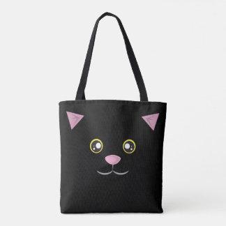 Cat Tote - Black