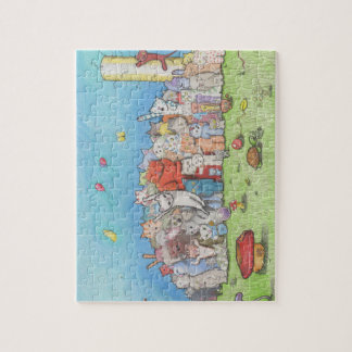Cat Town Jigsaw Puzzle