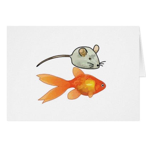 Cat Treats (Mice and Fish) Cards