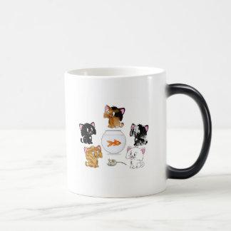 Cat Treats Morphing Mug