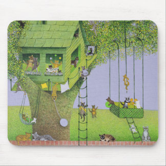 Cat Tree House Mouse Mat