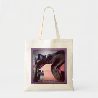 Cat Tree Nap Tote Bag