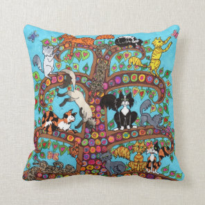 Cat Tree of Life 2 Cushion