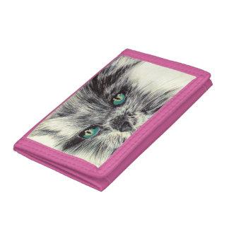 Cat Tri-fold Wallet