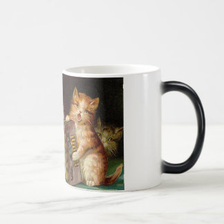 Cat trio cup morphing mug