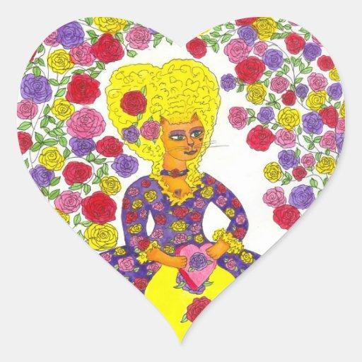 Cat Valentine - Heart Sticker