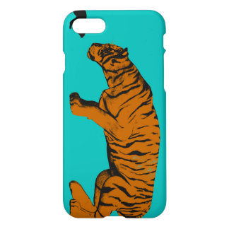 Cat Versus Tiger Ready to Fight or Take On iPhone 7 Case