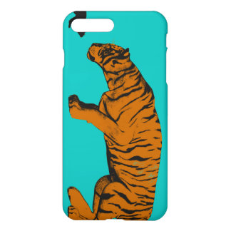Cat Versus Tiger Ready to Fight or Take On iPhone 7 Plus Case