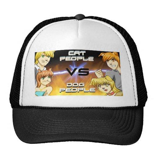 Cat vs Dog People Hat