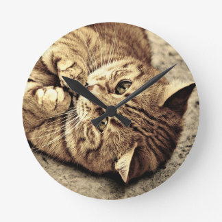 Cat Wallclocks