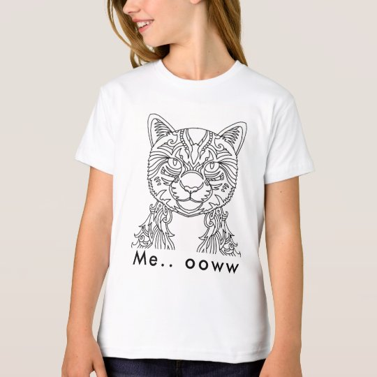 Cat watching T-Shirt