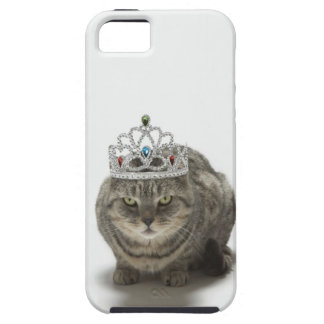 Cat wearing a tiara iPhone 5 case