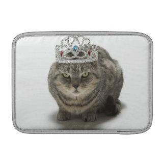 Cat wearing a tiara MacBook sleeve