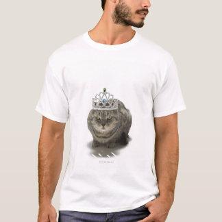 Cat wearing a tiara T-Shirt