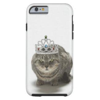 Cat wearing a tiara tough iPhone 6 case